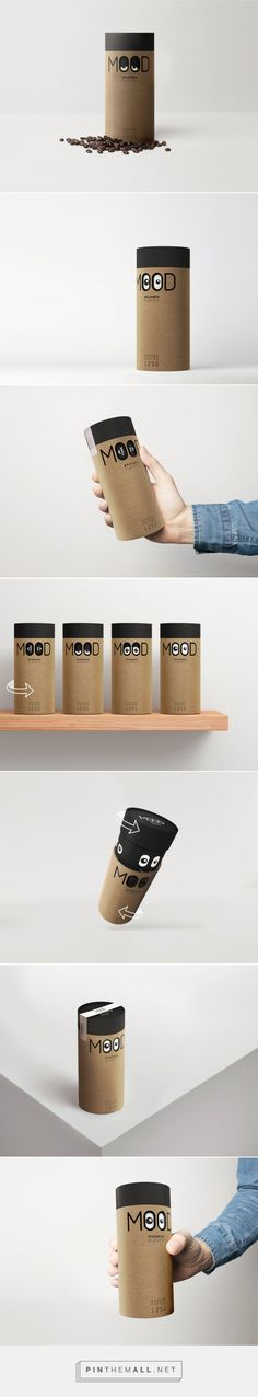 This Fun Coffee Concept Will Help You Get In the Right Mood To Take on the Day — The Dieline | Packaging & Branding Design & Innovation News - created via https://pinthemall.net