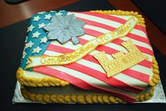 Great promotion cake idea...for you military gals