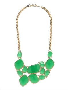 Love this necklace...only wish green wasn't out of stock! Plus, with Bauble Bar's Buried Baubles it's $20 vs. the normal $60!