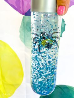 You searched for sensory bottle - Kid Activities with Alexa Sensory Bottles For Toddlers, Sensory Bottles Preschool, Glitter Sensory Bottles, Plastic Bottles, Itsy Bitsy Spider, Halloween Bottles, Clear Glue, Little Learners, Halloween Spider