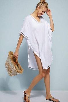 0fa3d6be7b 58 Best White beach cover ups images   Beachwear fashion, Boho ...