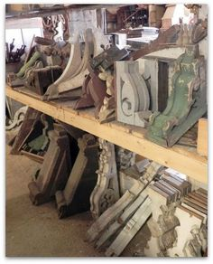 Eye For Design: Decorating With Architectural Salvage Corbels
