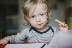 Serious little boy staring at the camera by Amir Kaljikovic - Stocksy United My Images, Little Boys, The Unit, Stock Photos, Face, Photography, Photograph, Fotografie, The Face