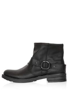 BUSTER Harness Biker Boots - Boots  - Shoes