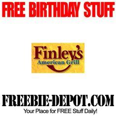 BIRTHDAY FREEBIE – Finley's American Grill - FREE BDay Steak