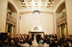 Wedding in our lobby