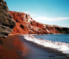 Red Beach in #Santorini