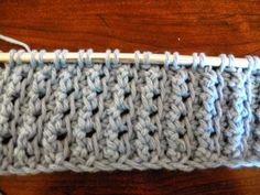 Tunisian Crochet Pattern - Lots of Crochet Stitches
