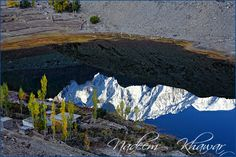 Borith Lake at Gojal, Hunza, Pakistan