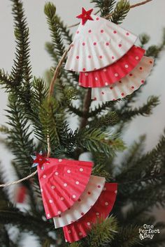#Adornos para el Árbol de #Navidad hecho con #moldes #manualidad #TreeOrnaments #DIY