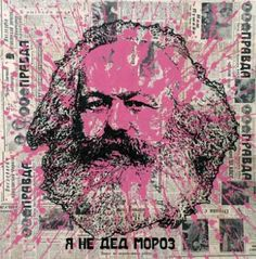"Stanislav Belovski; Painting, ""Karl Marx "" #art"