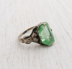 Hey, I found this really awesome Etsy listing at http://www.etsy.com/listing/160767669/antique-art-deco-sterling-silver-green