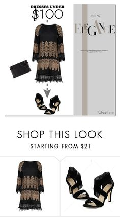 """TwinkleDeals - Elegance"" by tatajrj ❤ liked on Polyvore featuring under100"
