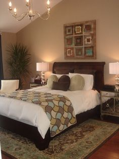 """""""RMS Inspired"""" Master Bedroom-Outside of my Zone - Bedroom Designs - Decorating Ideas - HGTV Rate My Space"""