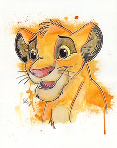 Simba by LukeFielding on deviantART