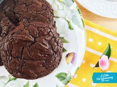 Dark Chocolate Brownie Cookies FODMAP, GF, DairyFree