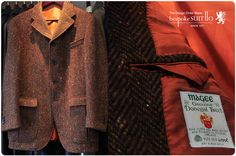 ★MAGEE Donegal Tweed 福岡市_T様