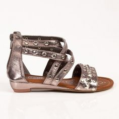 Studded Sandals. Riley needs these for our Florida trip.