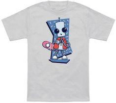 Time Traveling Robot T-Shirt.