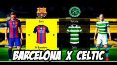 Fifa17 Barcelona X Celtic Liga dos Campeões│MODO LENDÁRIO (HD-1080P)