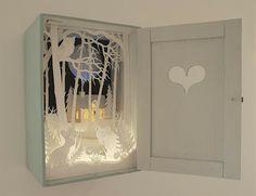 Paper Diorama Magic Cupboard by Helen Musselwhite
