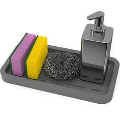 Silicone Sink Tray - Countertop Organizer - sponge holder... https://www.amazon.com/dp/B06XTS28FV/ref=cm_sw_r_pi_dp_x_n7XbAb0CS4Y0P