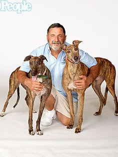 Florida Man Finds Homes for 7,000 Greyhounds : People.com - AWESOME!!