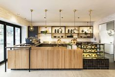 Hutch & Co. Restaurant Cafe by Biasol: Design Studio, image: Ari Hatzis From its humble beginnings as an ironmongery store formally known as Design Café, Design Studio, Bakery Design, Restaurant Design, Restaurant Interiors, Cafe Counter, Interior Architecture, Interior Design, Counter Design