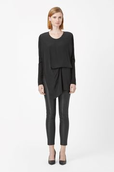 COS   Silk layer jumper