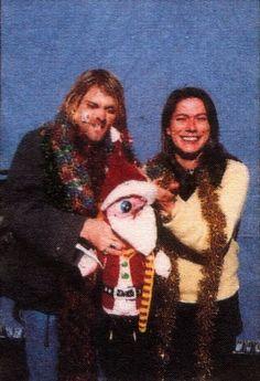 Kurt Cobain & Kim Deal, Seattle, December 13, 1993