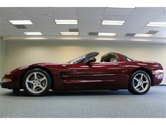 2003 CHEVROLET CORVETTE 50TH ANNIVERSARY (2DR CP)