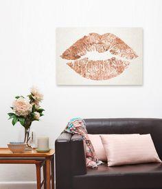 Oliver Gal kiss print