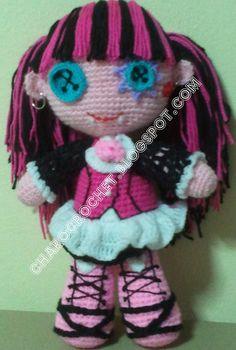 Charo Crochet: MONSTER HIGH DRACULAURA