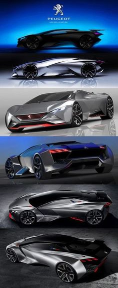 "'' 2017 Peugeot Vision Gran Turismo concept "" New Car Spy Shots, 2017 Concept Cars Pics and New 2017 Car Photos''' New Car Spy Shots, 2017 Concept Cars Pics and New 2017 Car Photos 2017 car. Carros Lamborghini, Sexy Cars, Hot Cars, Car Photos, Car Pictures, Jaguar, Futuristic Cars, Koenigsegg, Muscle Cars"