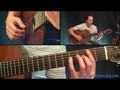 Tears In Heaven Guitar Lesson - Eric Clapton - Acoustic - YouTube