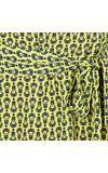 Vestido coqueiral Maria Filó - amarelo