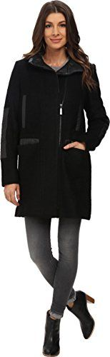 Special Offer: $124.99 amazon.com Vince Camuto Outerwear Size Guide Keep your winter-wear chic with this contemporary wool car coat. Wool-blend car coat flaunts a sleek, relaxed design. Faux-leather trim accent collar, pockets, and forearms. Oversized stand collar folds over easily for a...