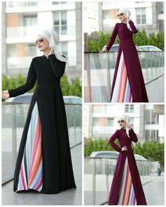 Abaya Fashion, Muslim Fashion, Modest Fashion, Women's Fashion Dresses, Hijab Dress Party, Muslim Dress, Daily Dress, Hijab Chic, Hijabs