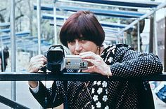 Agnès Varda. Her films were unique in the French new wave.