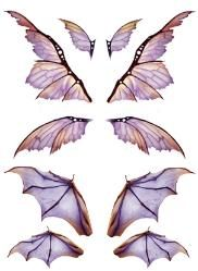 OOAK Artist Emporium - Fairy Wing Prints                                                                                                                                                                                 More