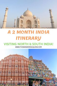 2 months in India is a great amount of time to travel this incredible country. India is huge a. India Travel Guide, Asia Travel, Travel Guides, Travel Tips, Travel Articles, South India, India India, India Food, India Destinations