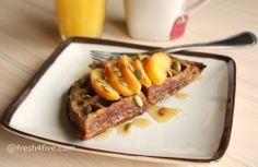 Apple Cinnamon Waffles (Paleo, GAPS) - sunflower seed flour and 2 Tbs coconut flour