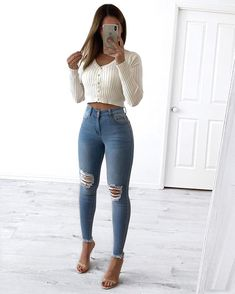 Visit our site for more fashion and outfits ideas Casual Fall Outfits, Teen Fashion Outfits, Mode Outfits, Girly Outfits, Classy Outfits, Outfits For Teens, Look Fashion, Trendy Outfits, Womens Fashion