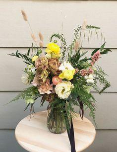 The Bespoke Flower Jar Flower Bar, Flowers In Jars, Security Door, Seasonal Flowers, Bespoke, This Is Us, Floral Wreath, Bouquet, Table Decorations