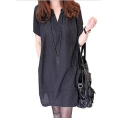 39d025d3cbdd9 Free Shipping Maternity Clothes New 2016 Large Size V neck Polka Dot  Dresses for Pregnant Women Dress Wholesale YFQ006-in Dresses from Mother    Kids on ...