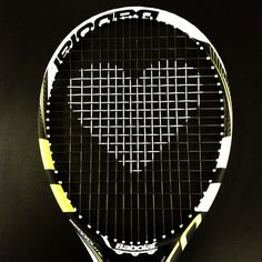 "Usually in tennis, ""love"" means ""nothing."" But not on Valentine's day! #TennisRunsInOurBlood"