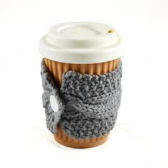 Cup cozy, by Sheeps Clothing