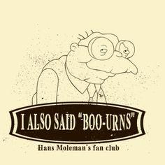 Hans Moleman's fan club