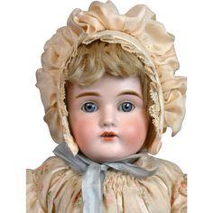 "Gorgeous All-Original Kestner 154 16.5"" Doll on Original Stamped Body"
