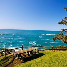 Cape Arago State Park  COOS BAY, OREGON  Pack your hiking boots for a Pacific Northwest beach escape on the fringe of Coos Bay. In addition to three sandy coves, the cape has rich tide pools, seal and sea lion colonies, and bounteous beach fishing. Whales can often be seen offshore.